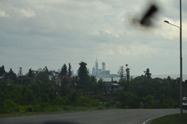 А недалеко от Сарпи город Батуми. Сарпи пригород как никак.