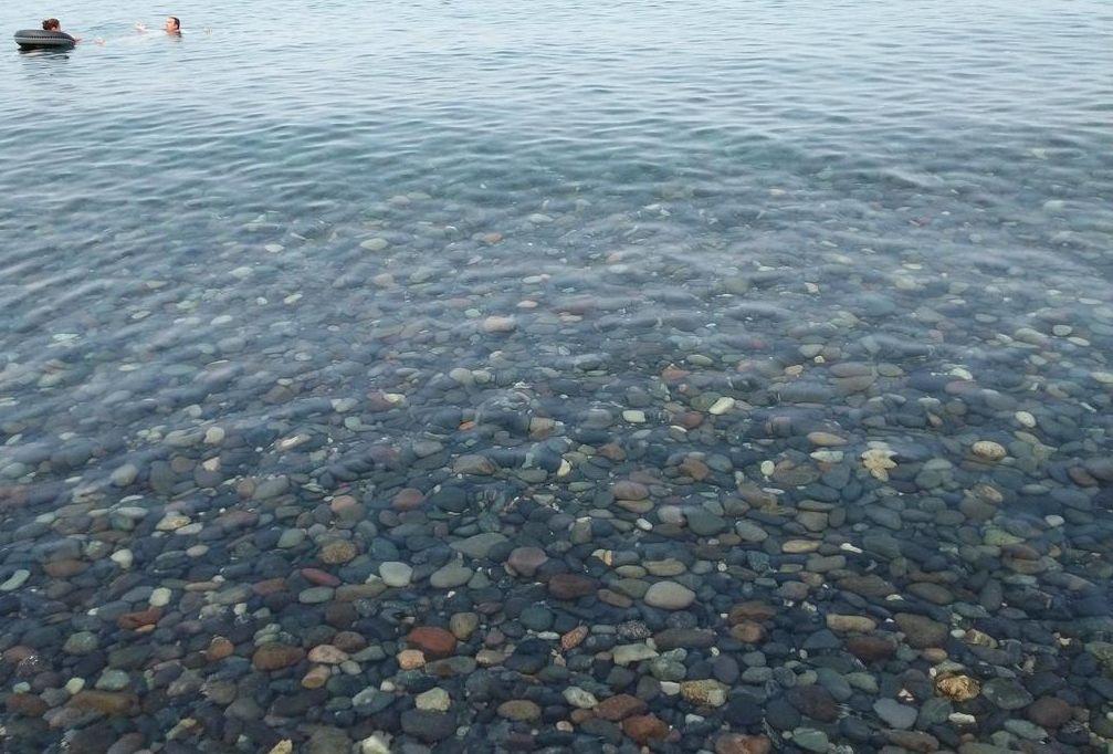 Чистое море в Сарпи