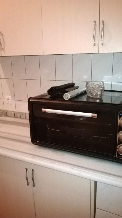 На кухне есть все необходимое - микроволновка в том числе